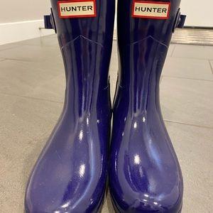 Hunter Refined Slim Fit Short Rainboot